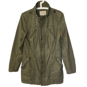 DENVER HAYES Army Olive Green Utility Jacket S